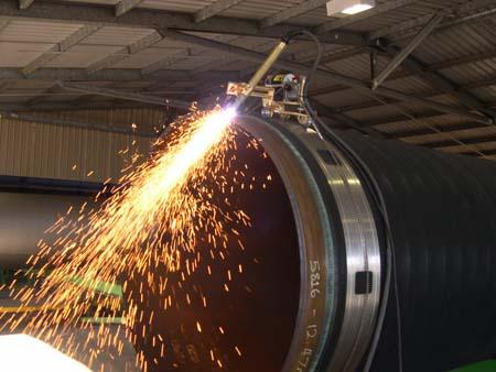 Станок плазменной резки труб большого диаметра